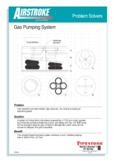 Gas Pumping System