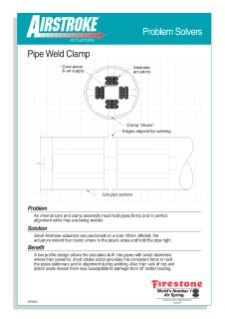Pipe Weld Clamp